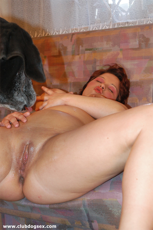 Zoo Sex Horny Housewife Getting Fucked By Huge Dog Cock-1097